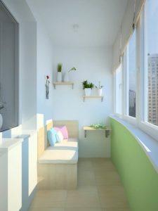 Làm đẹp ban công ở chung cư thành góc thưởng trà