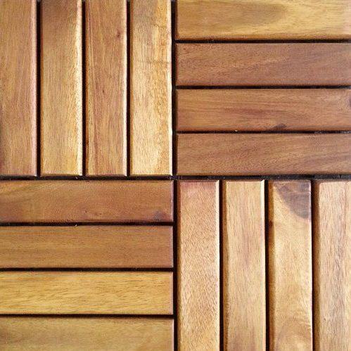 Sàn bàn công gỗ nhựa composite 4 nan thẳng | Trang Trí Ban Công