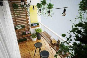 Top 10 ban công nhà ống đẹp khiến cho ngôi nhà nổi bần bật