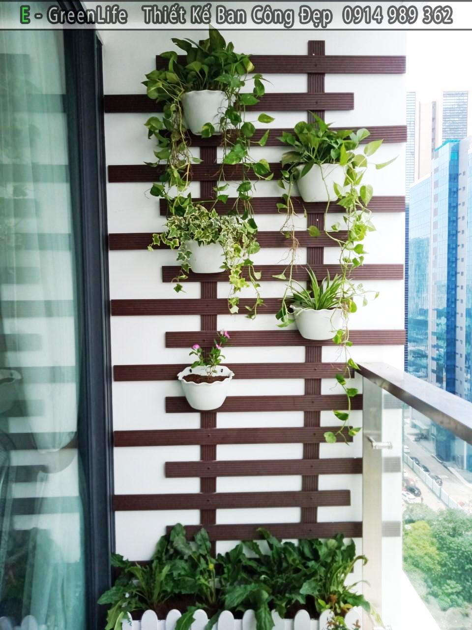tường rào ngang composite, tấm composite ốp tường