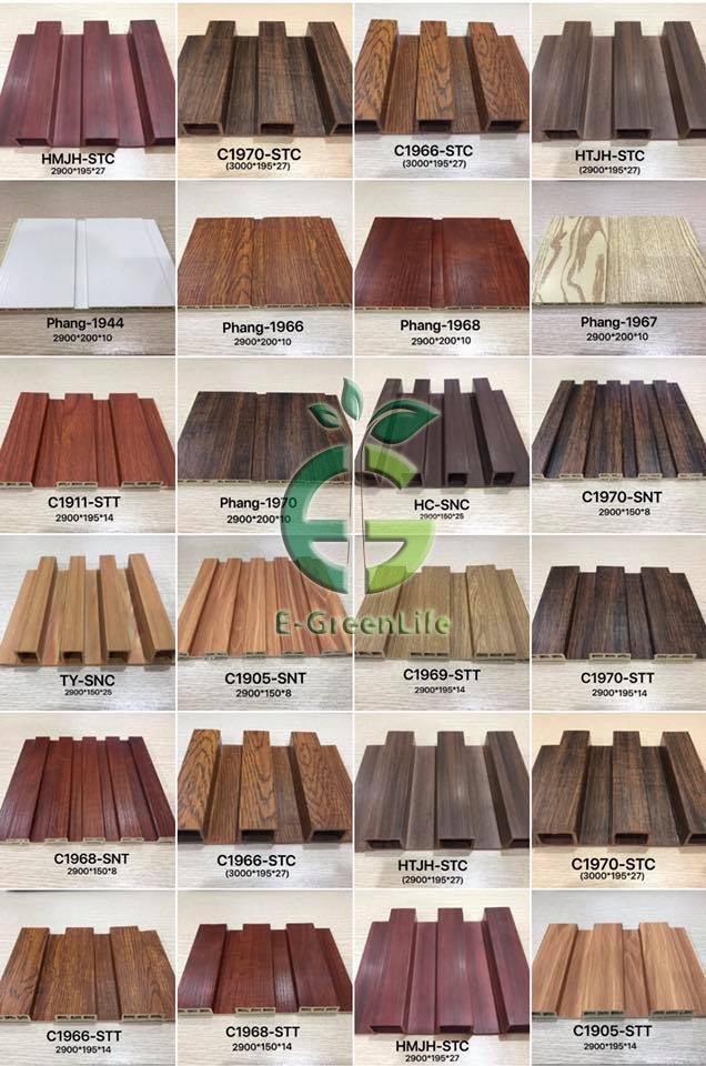 ứng dụng tấm nhựa giả gỗ Ốp tường ốp trần lát sàn